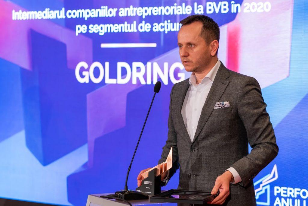 intermediarul companiilor antreprenoriale la BVB în 2020 pe segmentul acțiuni