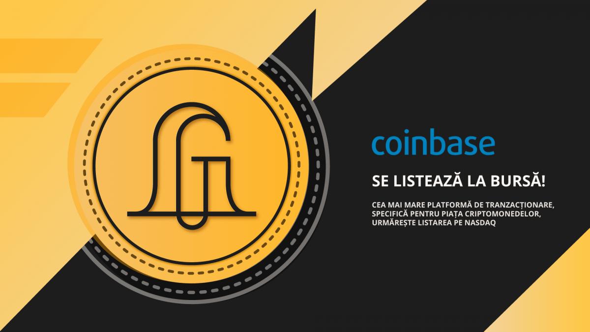 Coinbase se listează la bursă Goldring