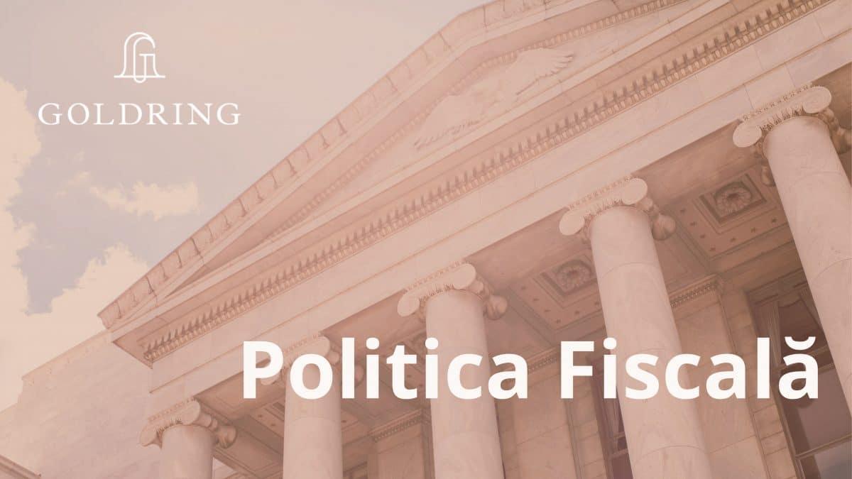 Educație financiară prin politica fiscală